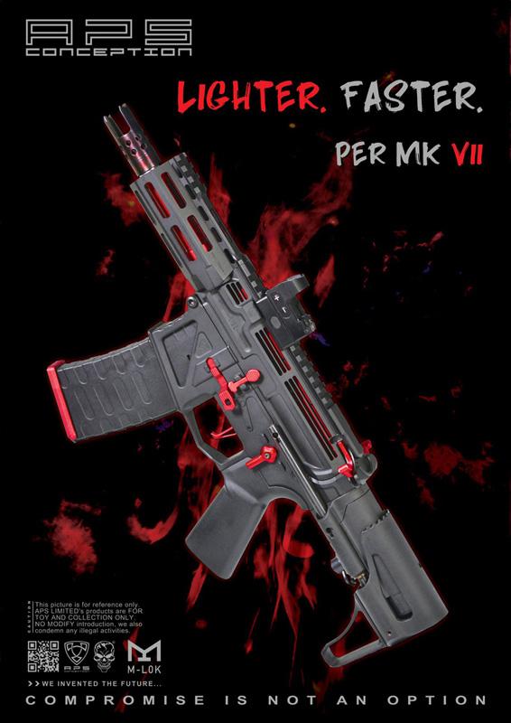 APS Phantom Extremis Rifle [PER] MK VII